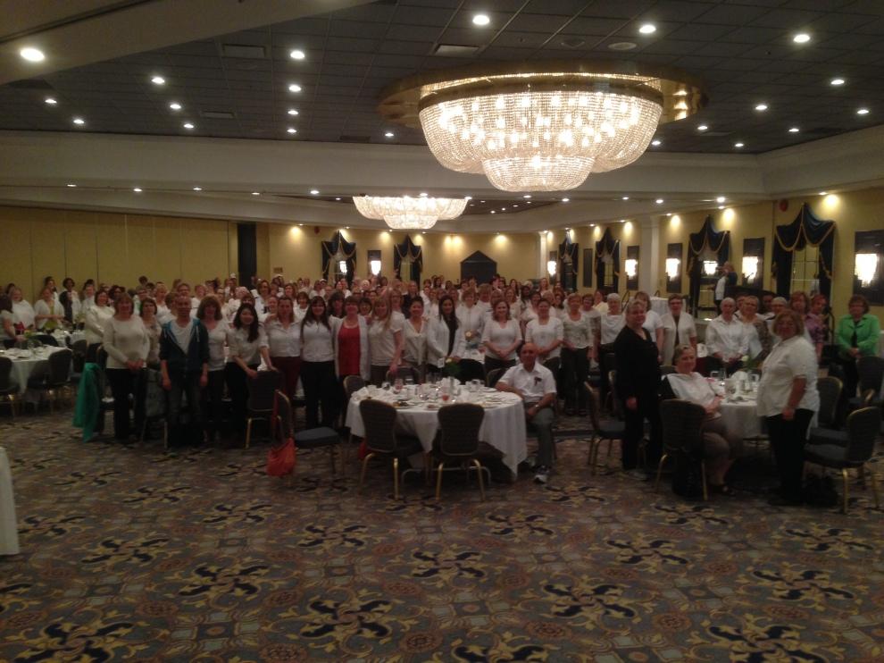 #una Local 196 #NursesWeek Dinner