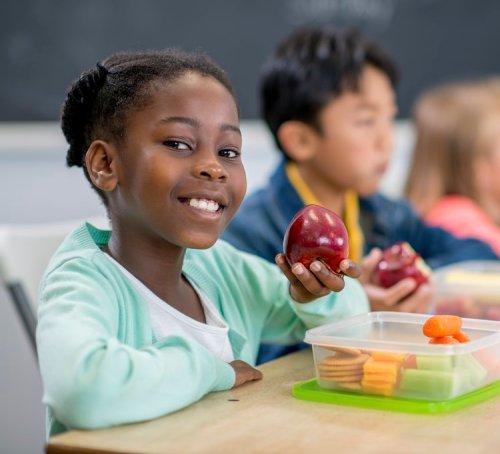 School nutrition program provides healthy snacks for students