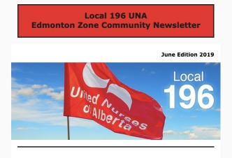 United Nurses of Alberta, Local 196   Edmonton Zone Community